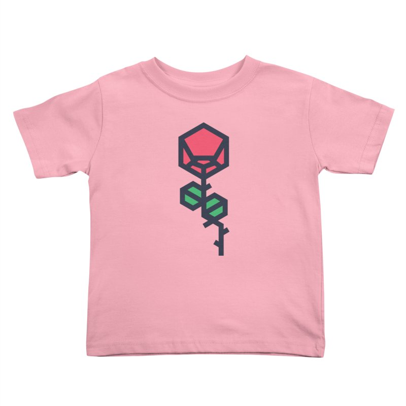 Rose Kids Toddler T-Shirt by TravisPixels's Artist Shop