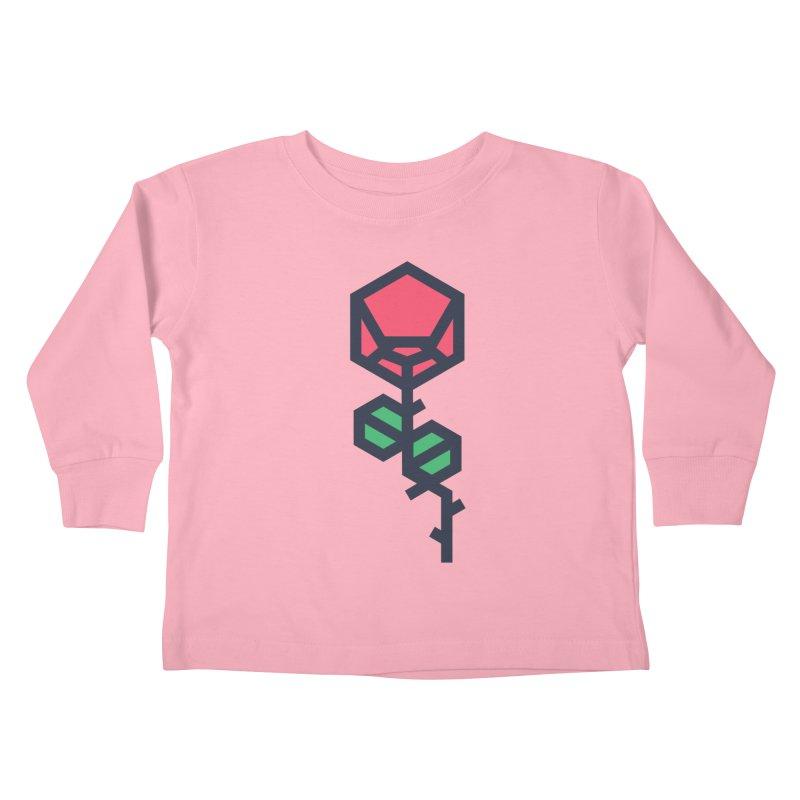 Rose Kids Toddler Longsleeve T-Shirt by TravisPixels's Artist Shop