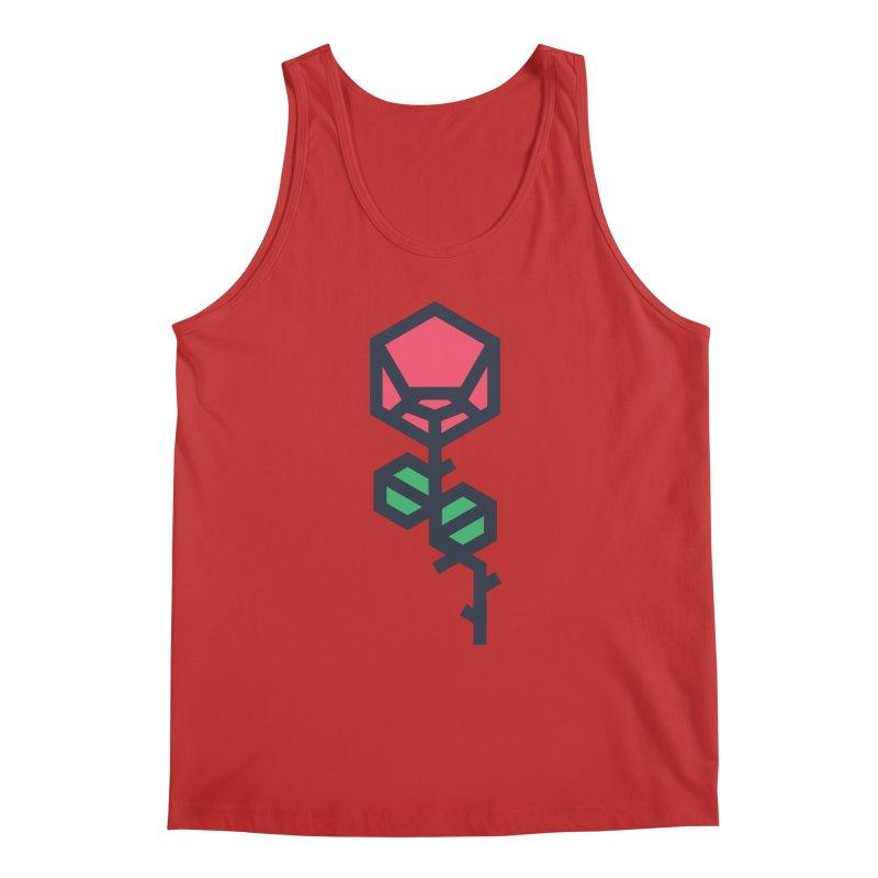 Rose Men's Regular Tank by TravisPixels's Artist Shop