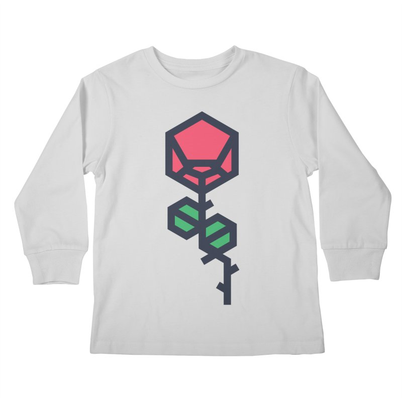 Rose Kids Longsleeve T-Shirt by TravisPixels's Artist Shop