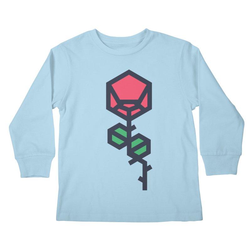 Rose Kids Longsleeve T-Shirt by TravisPixels's Artist Shop