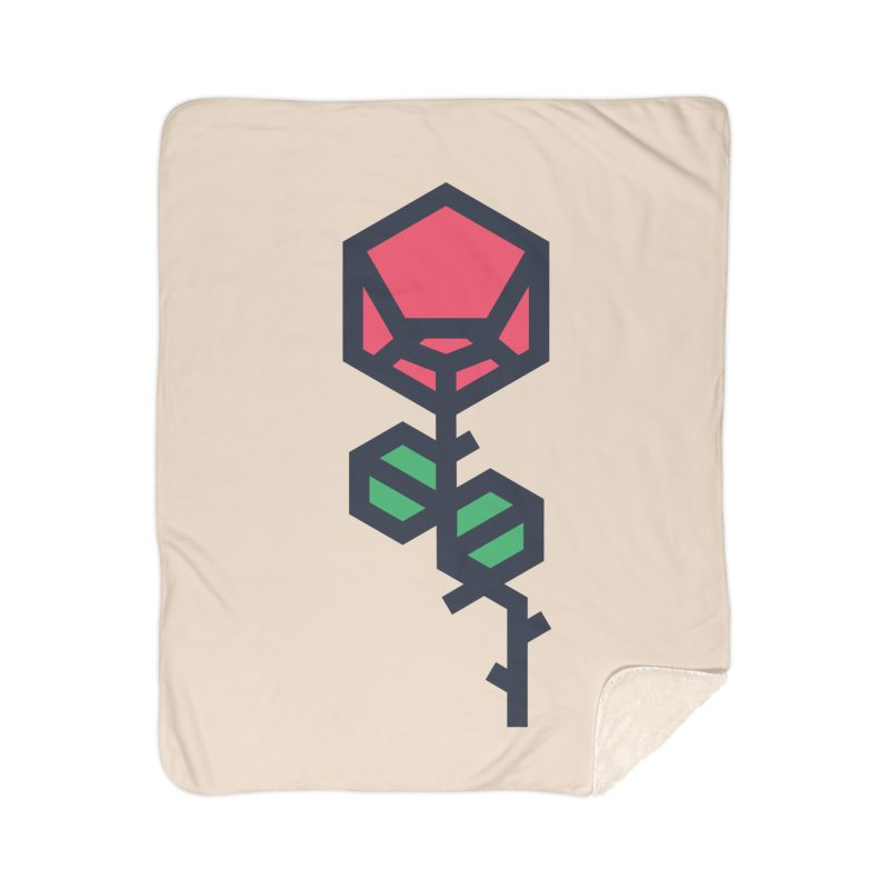 Rose Home Sherpa Blanket Blanket by TravisPixels's Artist Shop