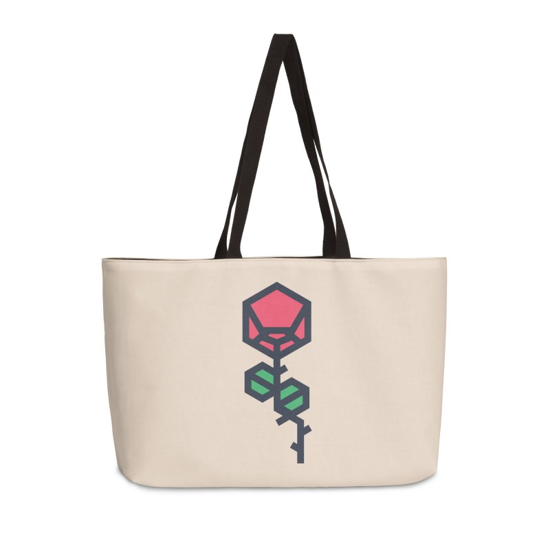 Rose Accessories Weekender Bag Bag by TravisPixels's Artist Shop