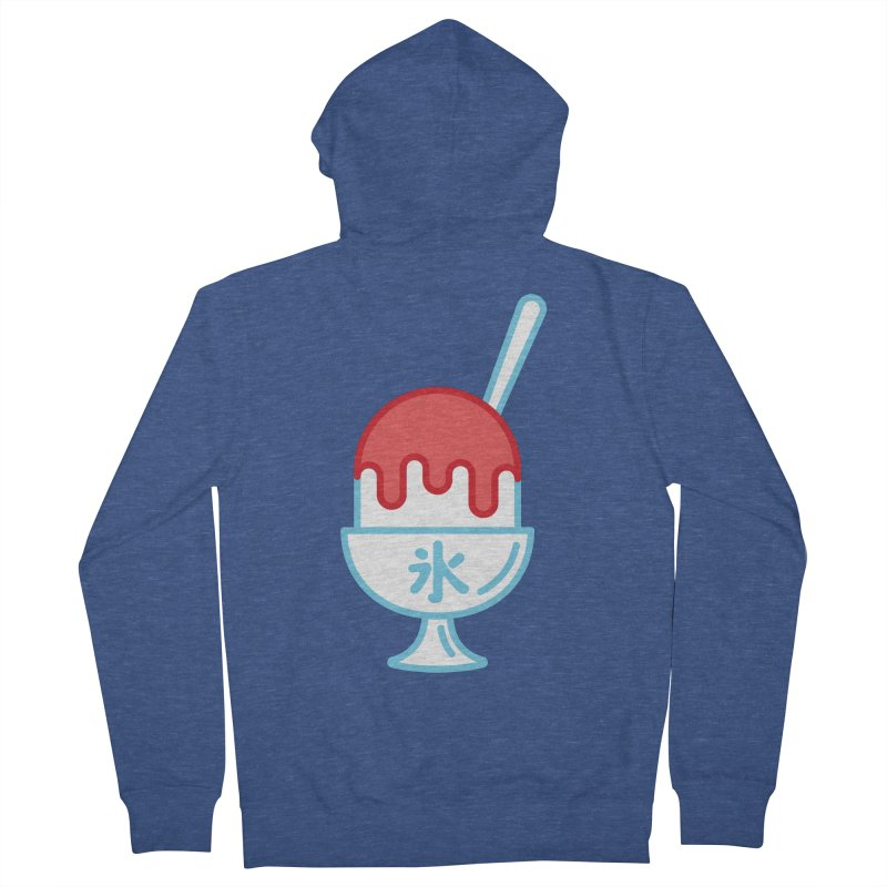 Kakigori Men's French Terry Zip-Up Hoody by TravisPixels's Artist Shop