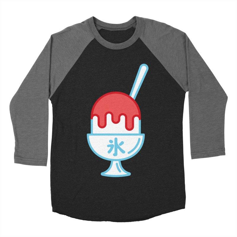Kakigori Women's Baseball Triblend Longsleeve T-Shirt by TravisPixels's Artist Shop