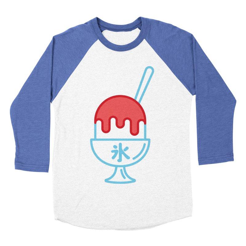 Kakigori Men's Baseball Triblend Longsleeve T-Shirt by TravisPixels's Artist Shop