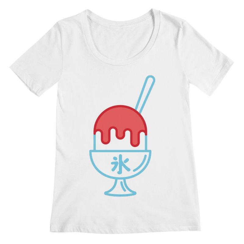 Kakigori Women's Regular Scoop Neck by TravisPixels's Artist Shop