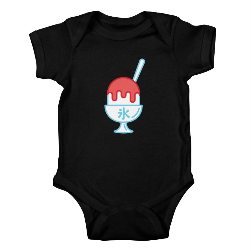 Kakigori Kids Baby Bodysuit by TravisPixels's Artist Shop
