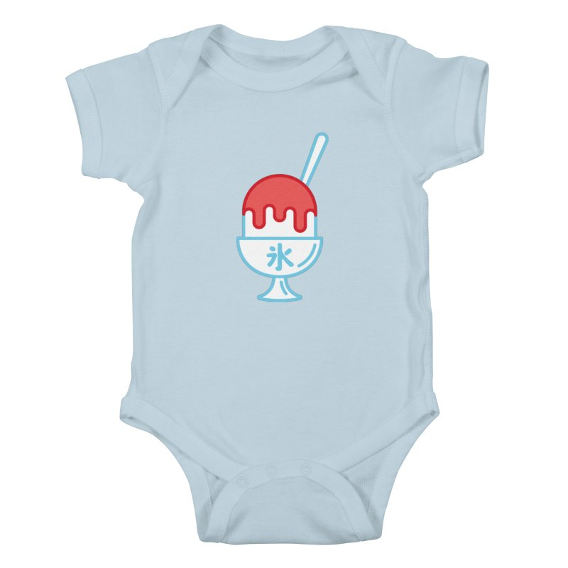 Kakigori Kids Baby Bodysuit by TravisPixels's Artist Shop