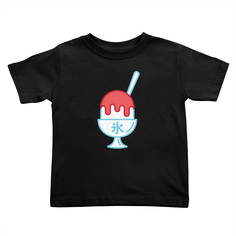 Kakigori Kids Toddler T-Shirt by TravisPixels's Artist Shop