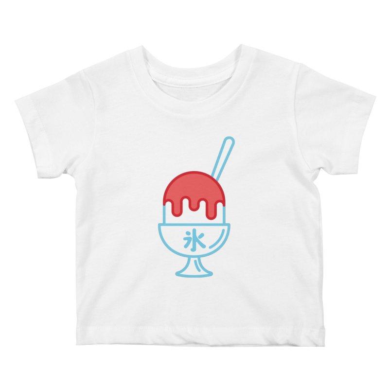 Kakigori Kids Baby T-Shirt by TravisPixels's Artist Shop