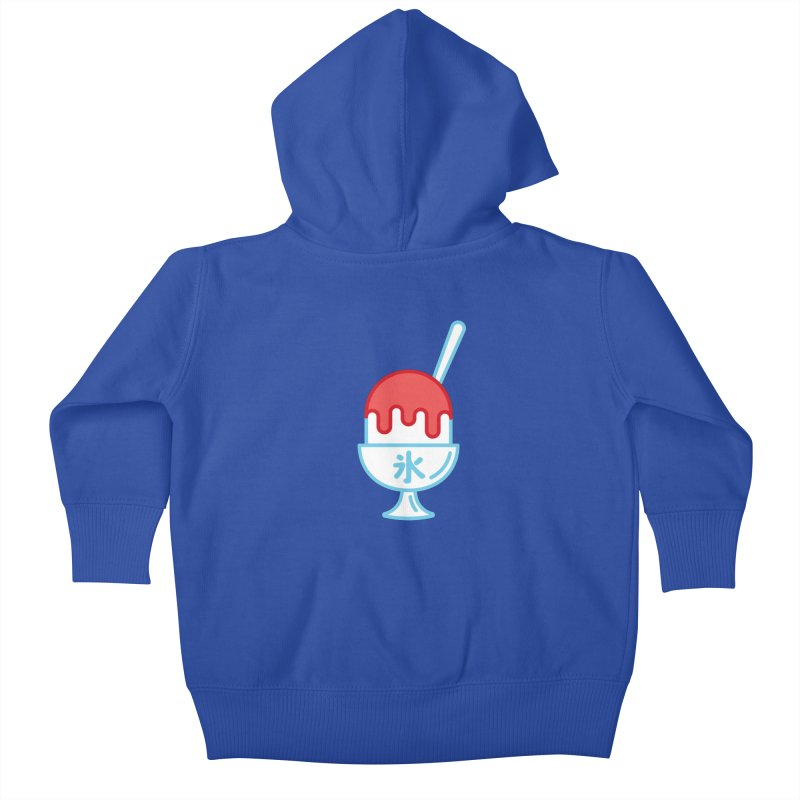 Kakigori Kids Baby Zip-Up Hoody by TravisPixels's Artist Shop