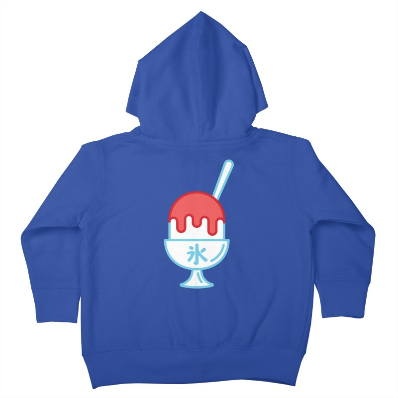 Kakigori Kids Toddler Zip-Up Hoody by TravisPixels's Artist Shop