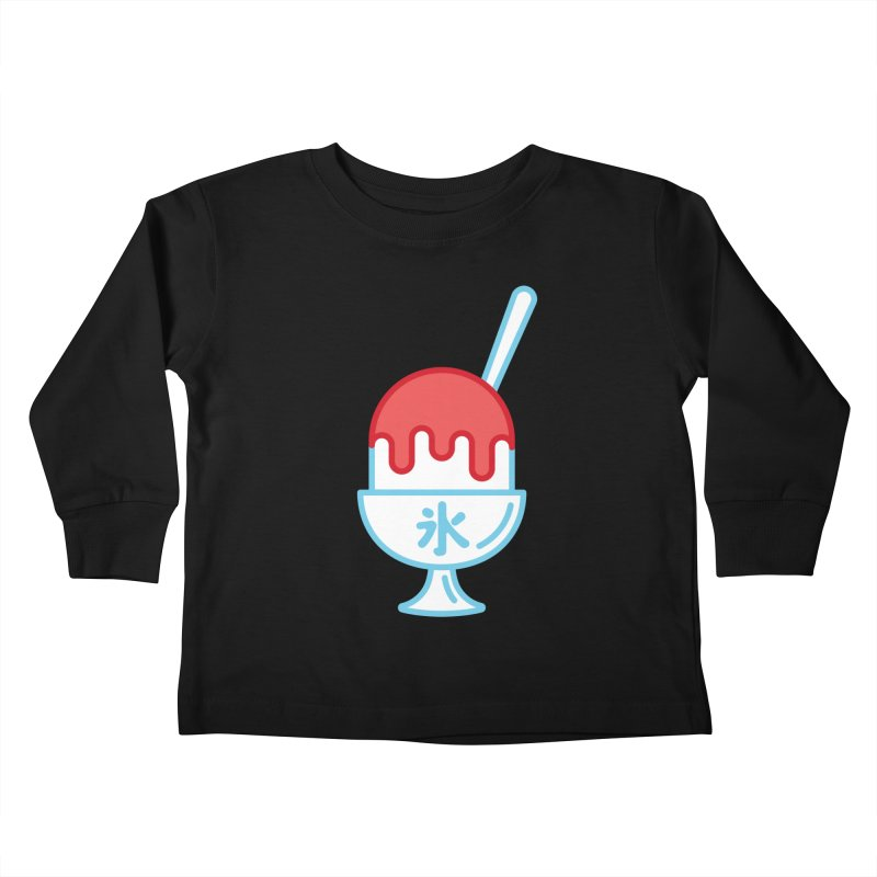 Kakigori Kids Toddler Longsleeve T-Shirt by TravisPixels's Artist Shop