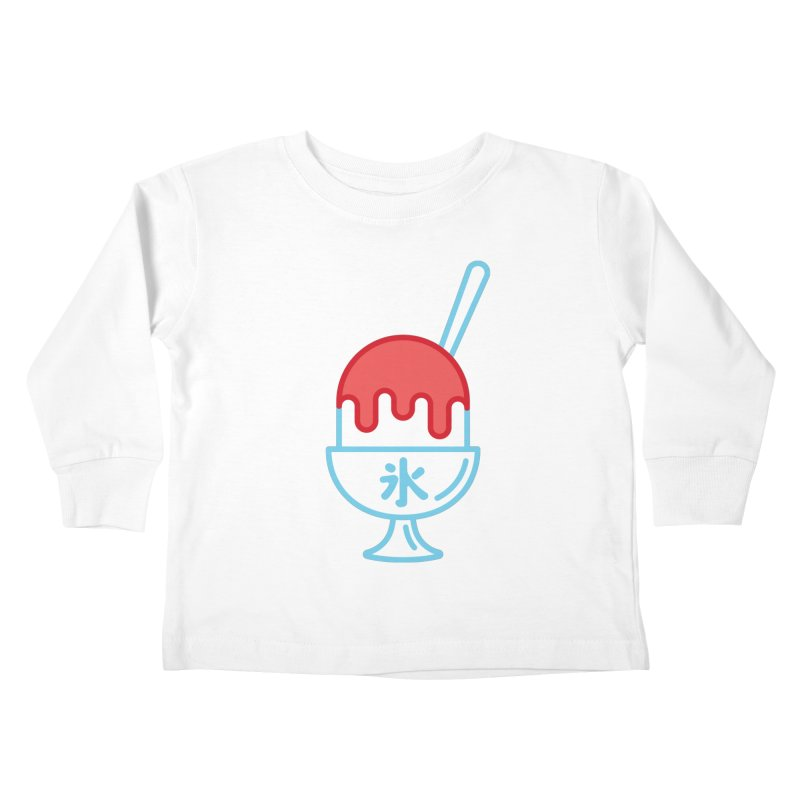 Kakigori Kids Toddler Longsleeve T-Shirt by TravisPixels's Artist Shop