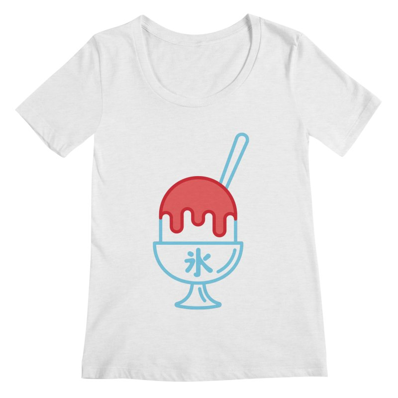 Kakigori Women's Regular Scoop Neck by TravisPixels's Artist Shop