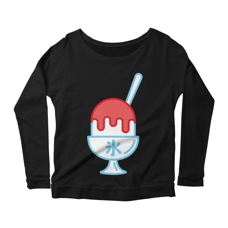 Kakigori Women's Scoop Neck Longsleeve T-Shirt by TravisPixels's Artist Shop