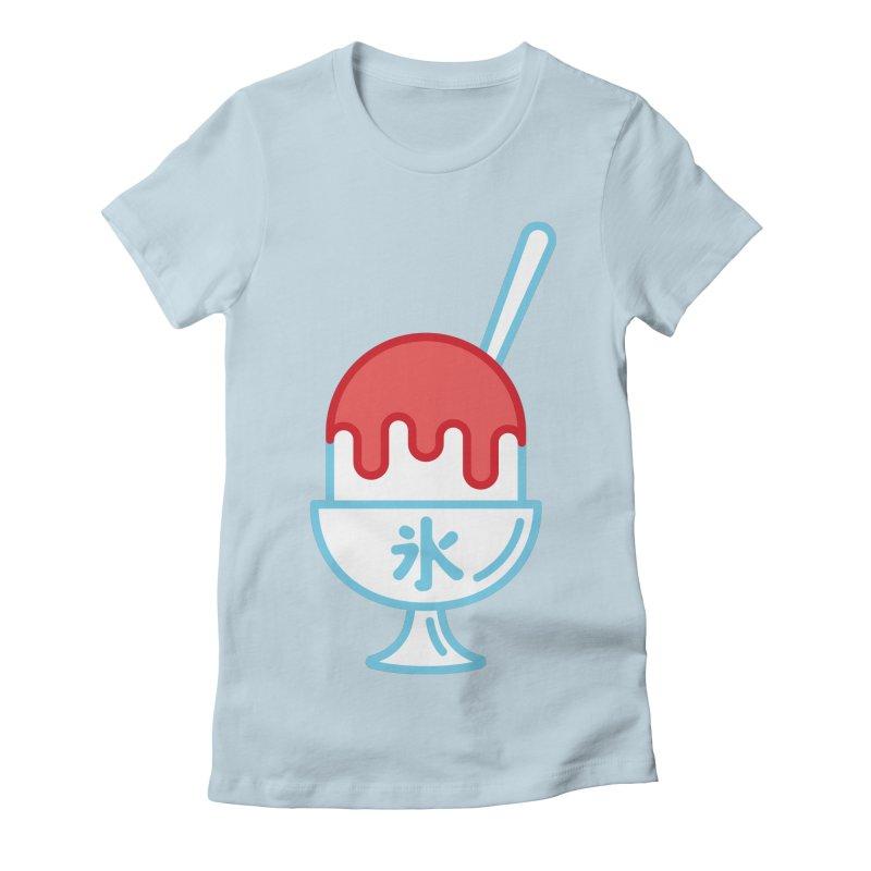 Kakigori Women's Fitted T-Shirt by TravisPixels's Artist Shop
