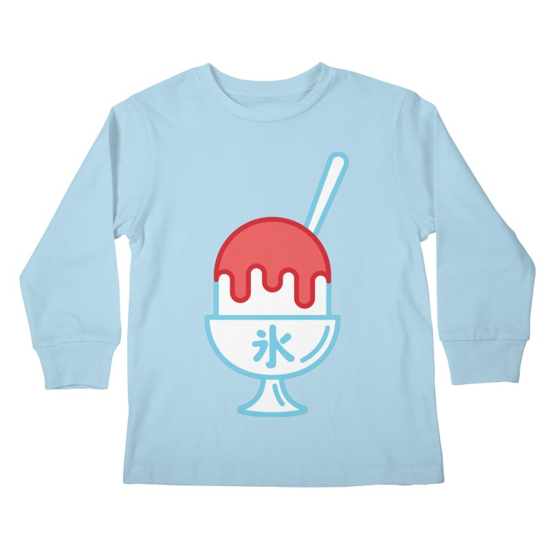 Kakigori Kids Longsleeve T-Shirt by TravisPixels's Artist Shop