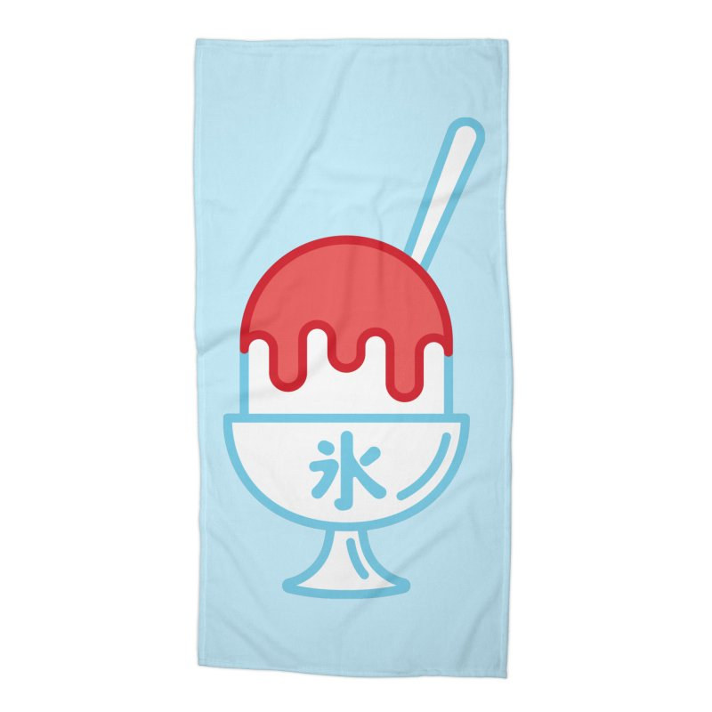 Kakigori Accessories Beach Towel by TravisPixels's Artist Shop