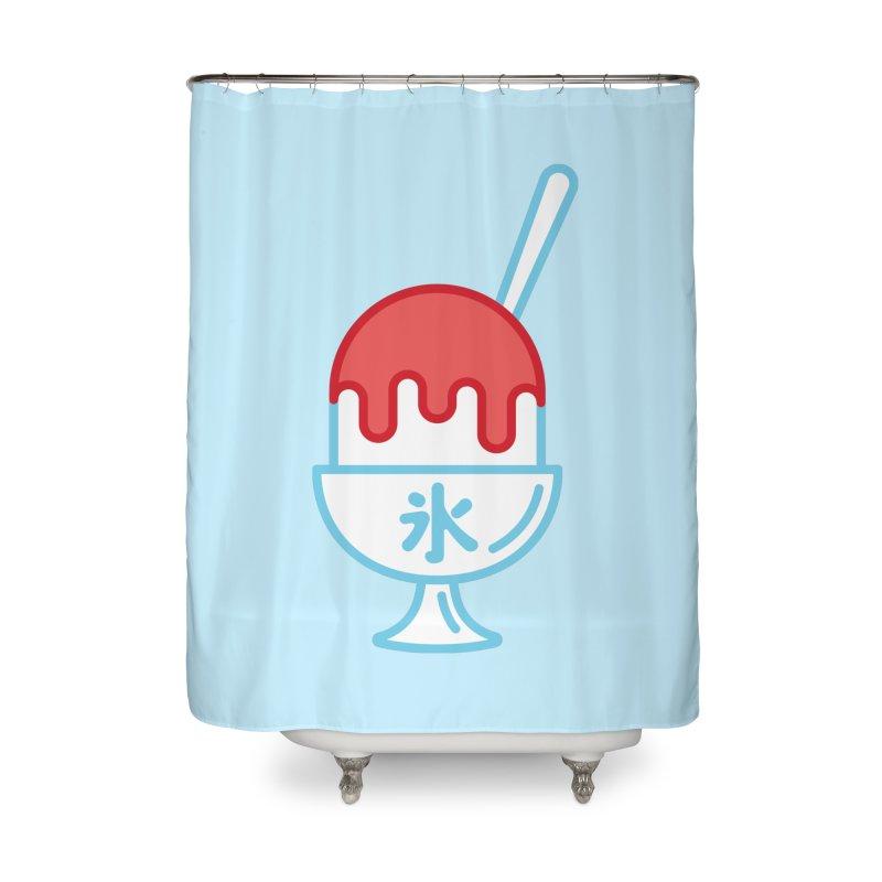 Kakigori Home Shower Curtain by TravisPixels's Artist Shop