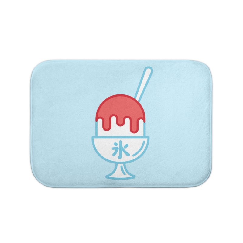 Kakigori Home Bath Mat by TravisPixels's Artist Shop