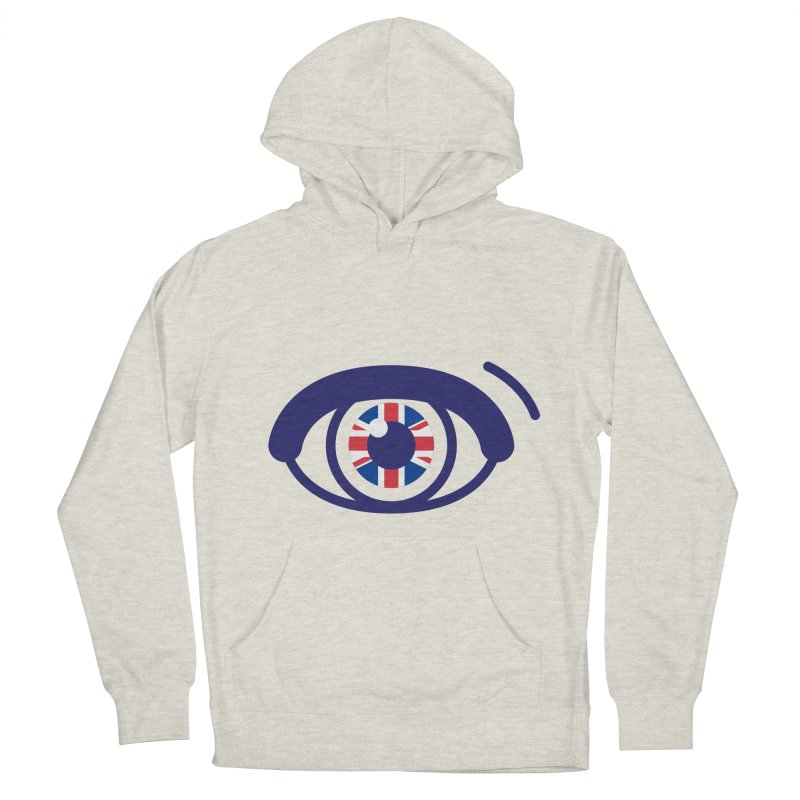 For British Eyes Only Men's French Terry Pullover Hoody by TravisPixels's Artist Shop