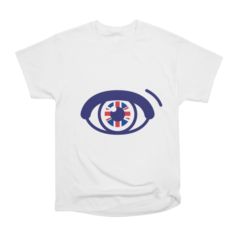For British Eyes Only Men's Heavyweight T-Shirt by TravisPixels's Artist Shop