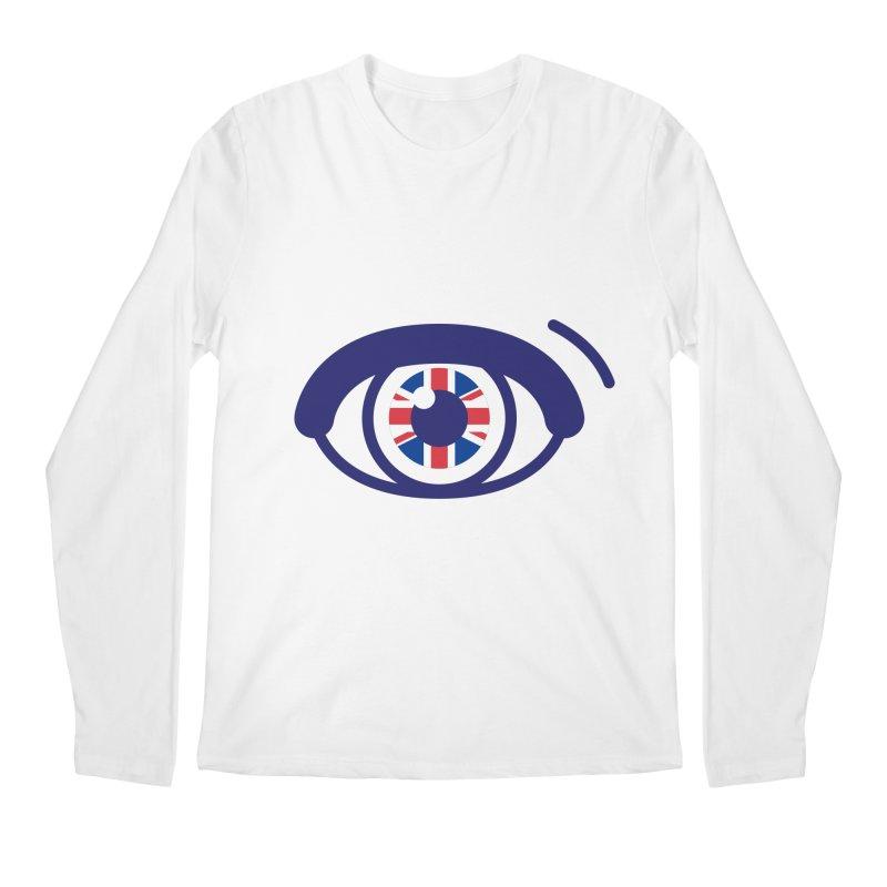 For British Eyes Only Men's Regular Longsleeve T-Shirt by TravisPixels's Artist Shop