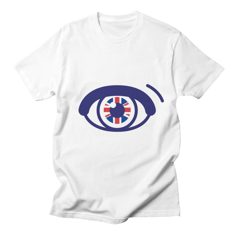 For British Eyes Only Men's Regular T-Shirt by TravisPixels's Artist Shop