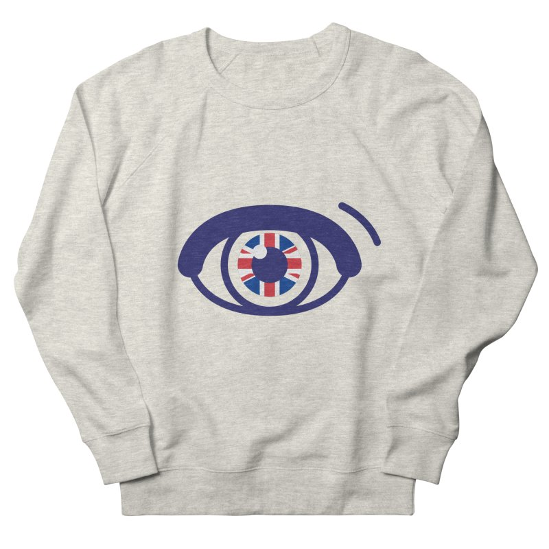 For British Eyes Only Women's French Terry Sweatshirt by TravisPixels's Artist Shop