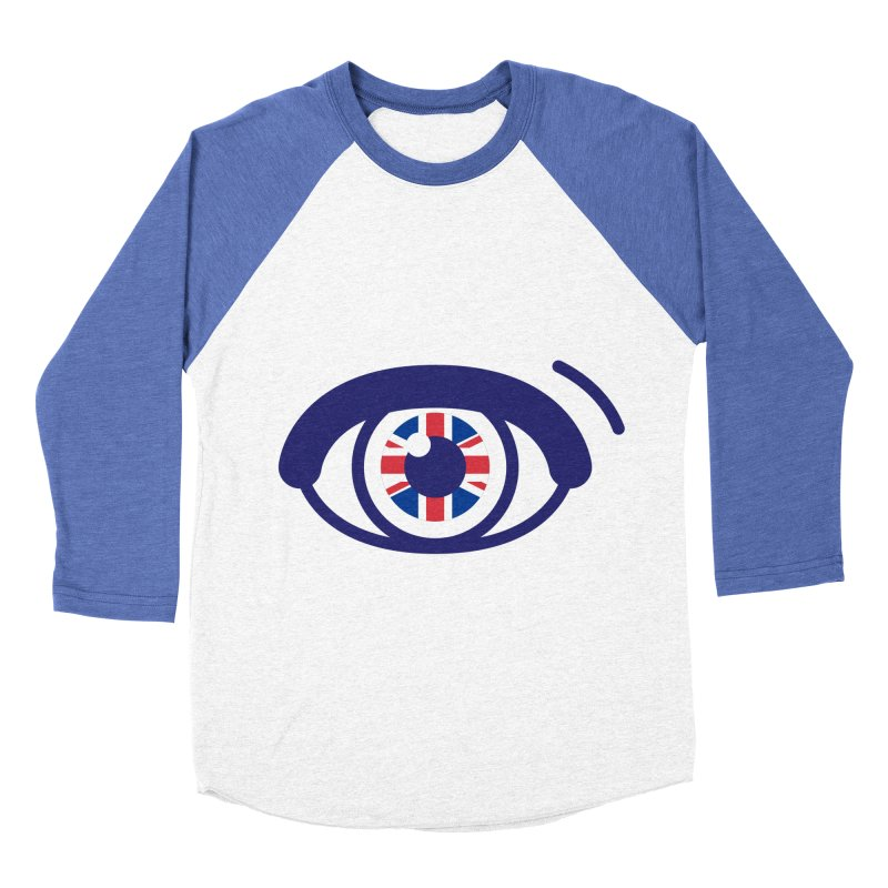 For British Eyes Only Women's Baseball Triblend Longsleeve T-Shirt by TravisPixels's Artist Shop