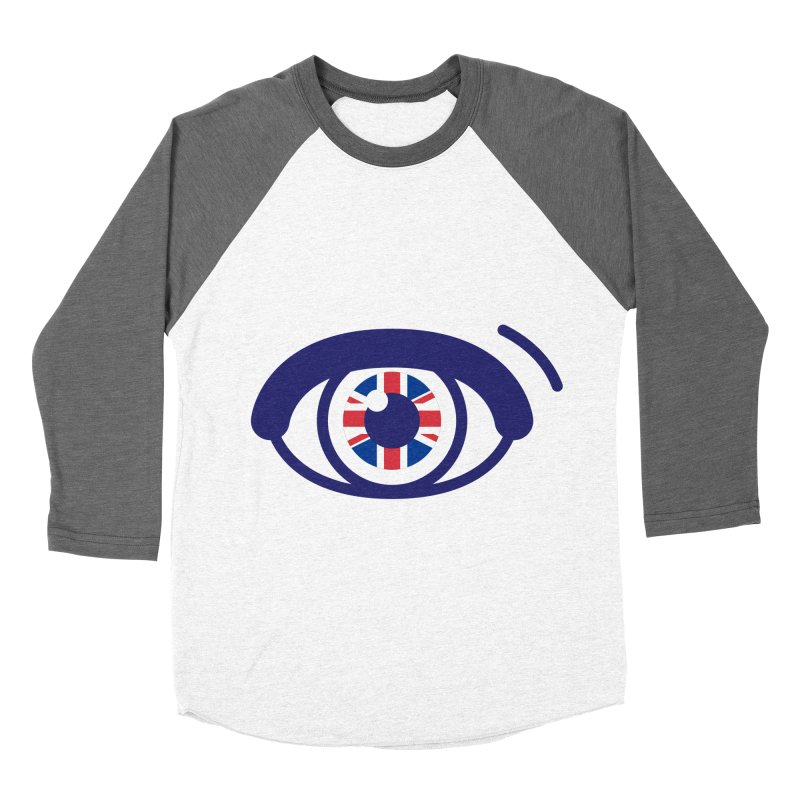 For British Eyes Only Women's Baseball Triblend Longsleeve T-Shirt by TravisPixels's Artist Shop