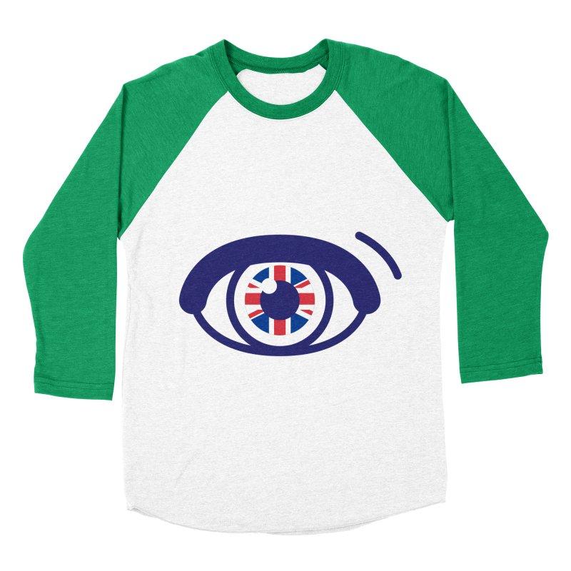 For British Eyes Only Men's Baseball Triblend Longsleeve T-Shirt by TravisPixels's Artist Shop