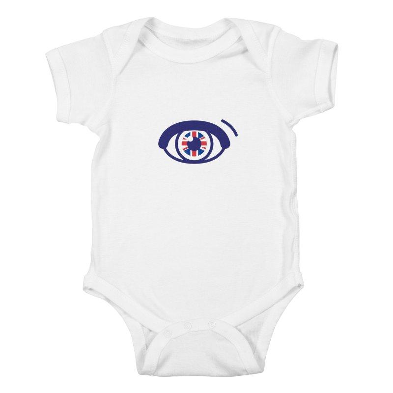 For British Eyes Only Kids Baby Bodysuit by TravisPixels's Artist Shop