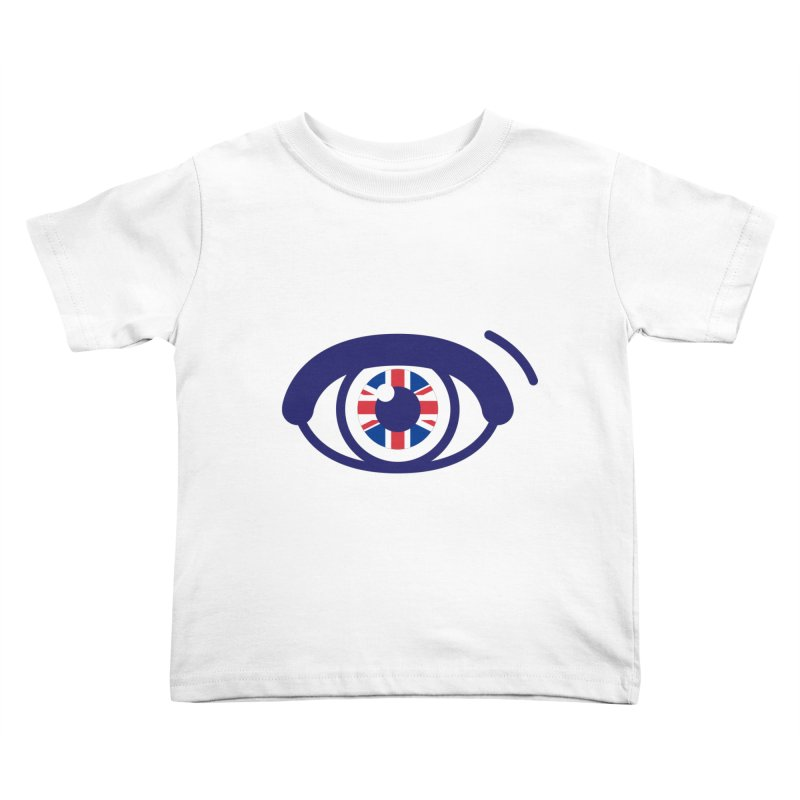 For British Eyes Only Kids Toddler T-Shirt by TravisPixels's Artist Shop