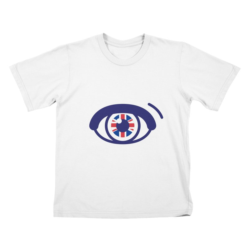For British Eyes Only Kids T-Shirt by TravisPixels's Artist Shop