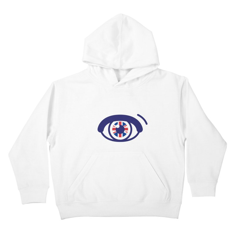 For British Eyes Only Kids Pullover Hoody by TravisPixels's Artist Shop