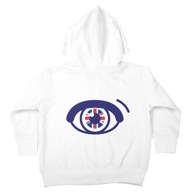 For British Eyes Only Kids Toddler Zip-Up Hoody by TravisPixels's Artist Shop