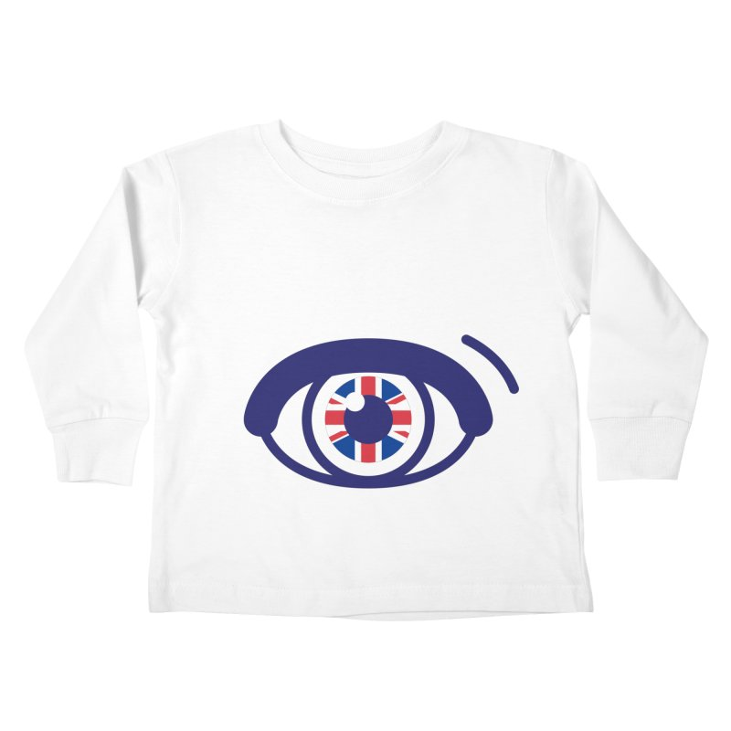 For British Eyes Only Kids Toddler Longsleeve T-Shirt by TravisPixels's Artist Shop
