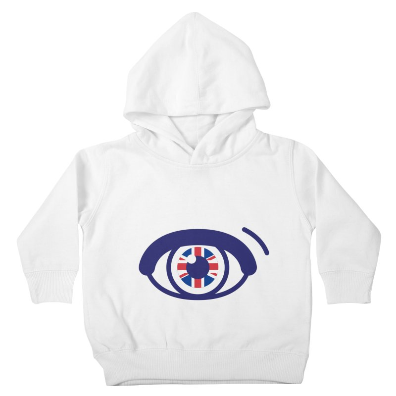 For British Eyes Only Kids Toddler Pullover Hoody by TravisPixels's Artist Shop