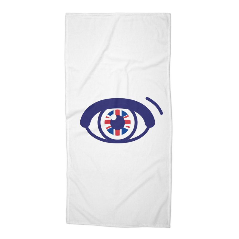 For British Eyes Only Accessories Beach Towel by TravisPixels's Artist Shop