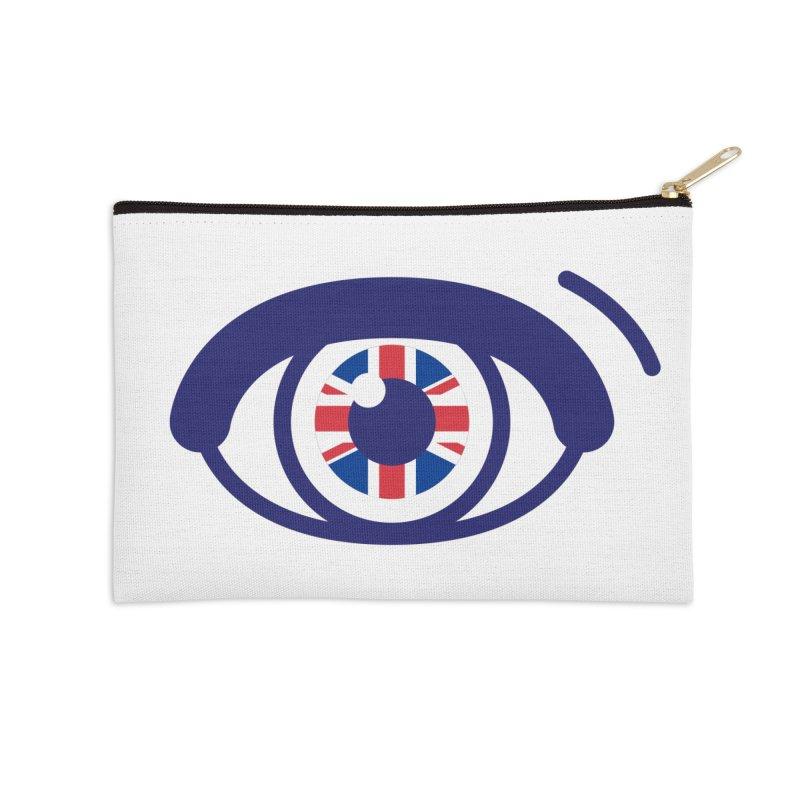 For British Eyes Only Accessories Zip Pouch by TravisPixels's Artist Shop