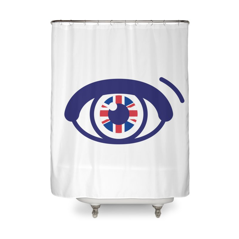 For British Eyes Only Home Shower Curtain by TravisPixels's Artist Shop