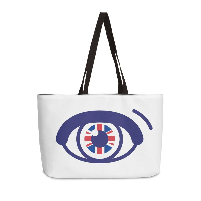 For British Eyes Only Accessories Weekender Bag Bag by TravisPixels's Artist Shop