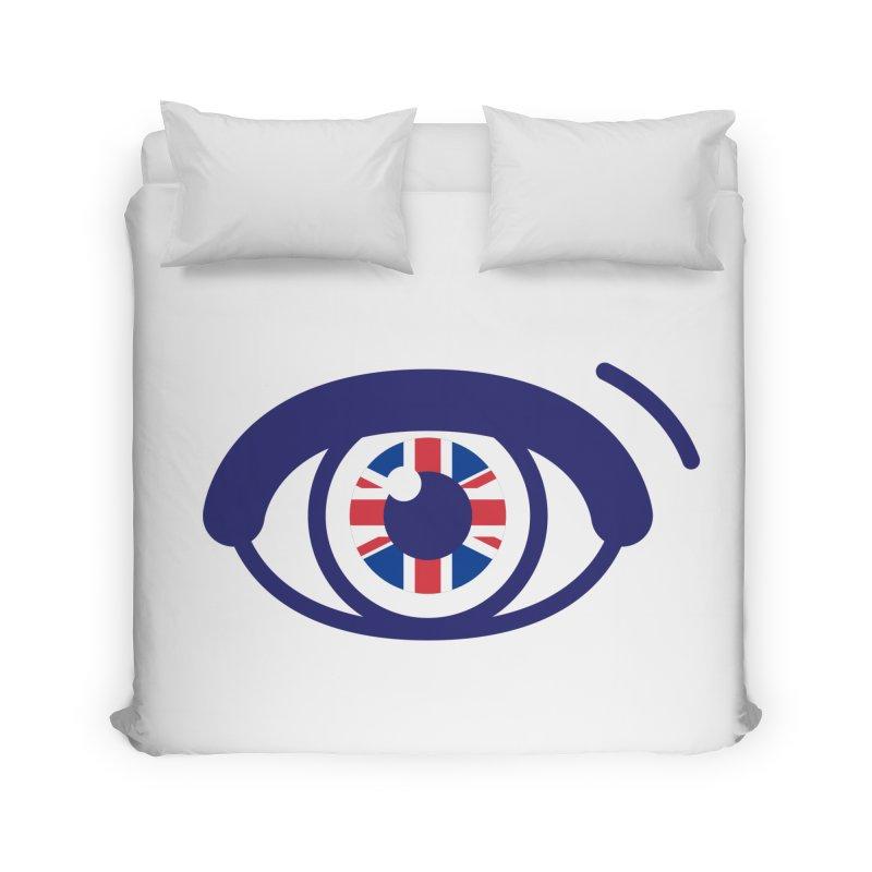 For British Eyes Only Home Duvet by TravisPixels's Artist Shop