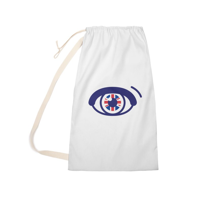 For British Eyes Only Accessories Laundry Bag Bag by TravisPixels's Artist Shop