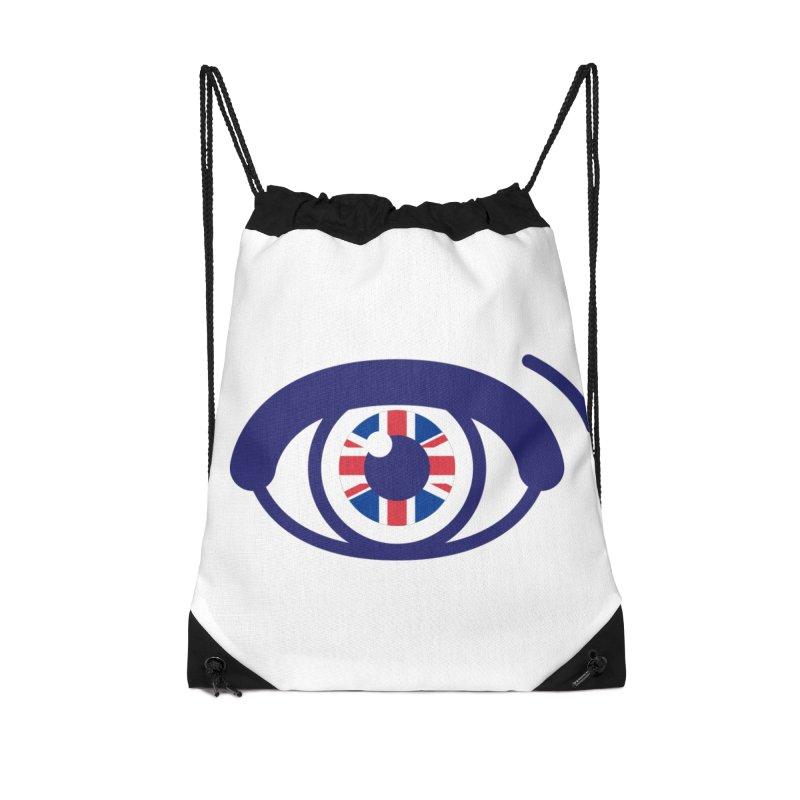 For British Eyes Only Accessories Drawstring Bag Bag by TravisPixels's Artist Shop