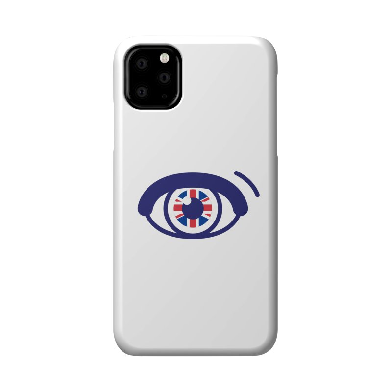 For British Eyes Only Accessories Phone Case by TravisPixels's Artist Shop