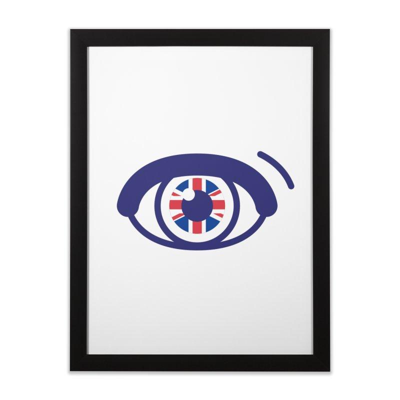 For British Eyes Only Home Framed Fine Art Print by TravisPixels's Artist Shop
